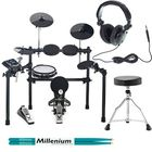 Millenium MPS-500 E-Drum Set Bundle