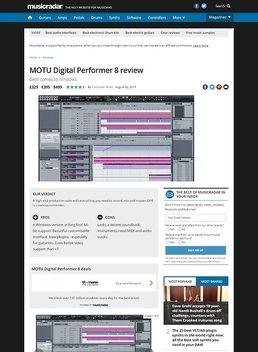 Digital Performer Update