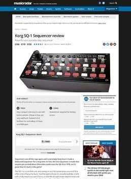 Korg SQ-1 Sequencer