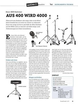 Sonor 4000 Hardware