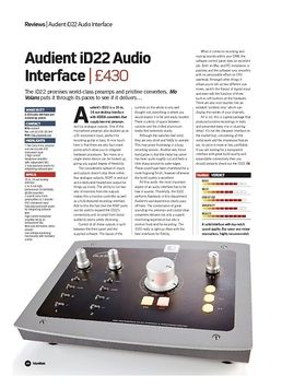 Audient iD22 Audio Interface