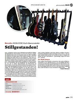 Hercules HCGS-525B 5-fach-Gitarrenständer