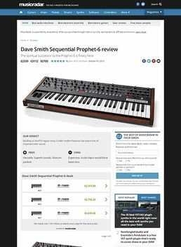 Dave Smith Sequential Prophet-6