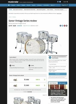 Vintage Series Three20 Pearl