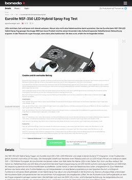 NSF-350 LED Hybrid Spray Fog