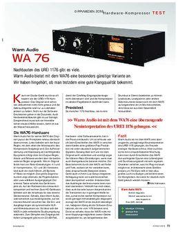 Warm Audio WA 76