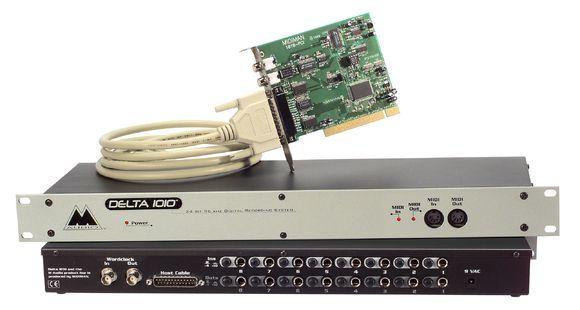 Audiointerface im klassischen PCI-Format