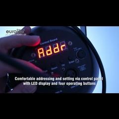 Eurolite LED PAR-64 RGBW+UV short