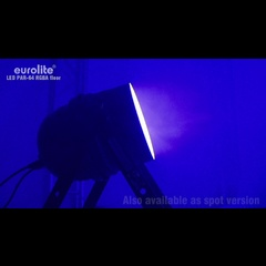 Eurolite LED PAR 64 Floor RGBA 10mm