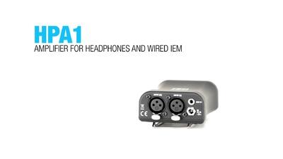LD Systems HPA1: In Ear Kopfhöreramp