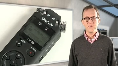 Tascam DR-05 Digitalrecorder