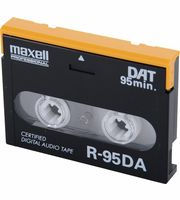 Cassetes DAT