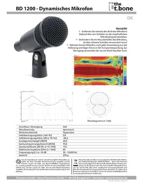 Datenblatt: BD 1200