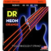 DR Strings NOB-45 Strings Set Neon Orange