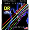 DR Strings HiDef Multi Color Neon E 10