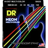 DR Strings Neon HiDef Multi-Color Bass 5