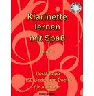 Horst Rapp Verlag Klarinette lernen mit Spaß
