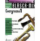 Schott Bläser-Mix Evergreens Vol.1 Bb