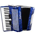 Startone Piano Accordion 72 Blue