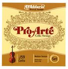 Daddario J59 Pro Arte Cello Strings 3/4