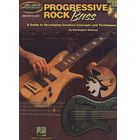 Hal Leonard Progressive Rock Bass
