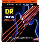 DR Strings HiDef Neon Orange NOB-5-45