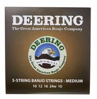Deering 5 String Banjo Medium Set