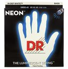 DR Strings HiDef White Neon Bass 5 40-120