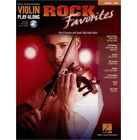 Hal Leonard Violin Play Along Rock Favorit