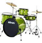 DDrum D2 Rock Starter Set Lime Spkl