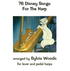 Hal Leonard 76 Disney Songs For The Harp