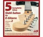 Electric Guitar Strings 5 Sets C.Giant