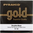 Pyramid Double Bass Gold