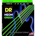 DR Strings NGB-45-5 Strings Set Neon GN