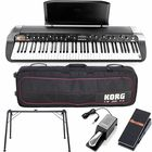 Korg SV1 73 BK Stage Pack Bundle