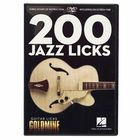 Hal Leonard 200 Jazz Licks-Guitar Licks