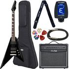 Harley Benton R-10 BK Rock Series Bundle 1