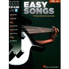 Hal Leonard Bass Play Along Easy Songs
