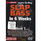 Music Sales Slap Bass In 6 Weeks - Week 5