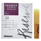 D'Addario Woodwinds Reserve Clarinet Classic 2,5