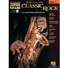 Hal Leonard Sax Play-Along Classic Rock