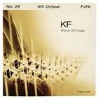 Bow Brand KF 4th F Harp String No.28