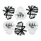 Dunlop EVH White/Black Stripes Tin 6