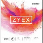 Daddario DZ613-3/4L Zyex Bass A light