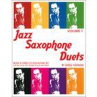 Greg Fishman Jazz Studios Jazz Saxophone Duets