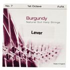Bow Brand Burgundy 1st F Gut String No.7