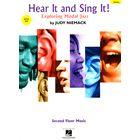 Hal Leonard Hear It And Sing It! Jazz