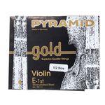 Pyramid Gold Violin Strings 1/2