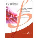 Billaudot Editeur Kröpsch Etudes 1 Clarinet