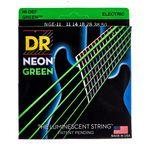 DR Strings HiDef Neon Green Heavy NGE-11